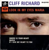 Cliff Richard - Holland - Look In My Eyes Maria (SEG 8405)